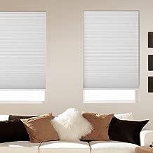 Window Blind Store Room Darkening Cordless Cellular Shade White 36x64