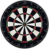 Trademark Games Bristle Dart Board with Metal Wire Spider – Professional Regulation Size Tournament Set with 6-17 Gram...