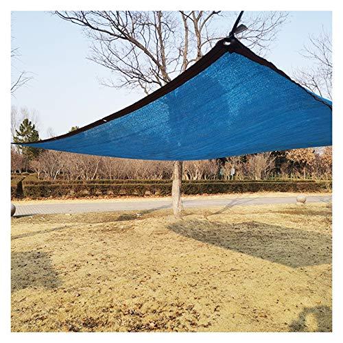 CAIJUN Vela De Sombra para El Sol, Exterior Jardín Red De Sombra Bloquear Resistente A Los Rayos UV por Patio Interior Planta Invernadero Marquesina del Coche (Color : A, Size : 5x5m)