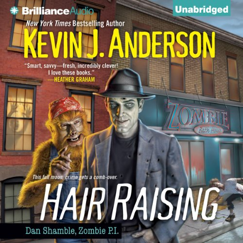 Hair Raising audiobook cover art