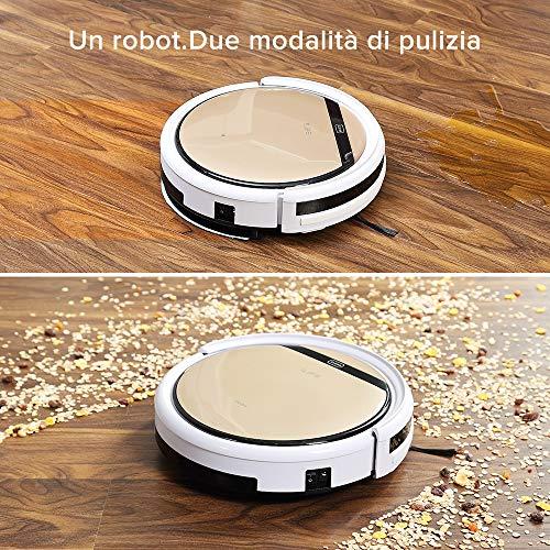 ZACO V5SPRO ILIFE V5s PRO Aspirapolvere Serbatoio d'Acqua, Robot in Grado di Lavare Automaticamente Il Pavimento, 22 W, 0.3 litri, 65 Decibel, Plastica