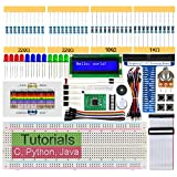Freenove LCD 1602 Starter Kit for Raspberry Pi 4 B 3 B+ 400, 209-Page Detailed Tutorials, Python C Java Code, 151 Items, 28 Projects, Solderless Breadboard