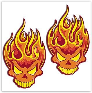 Suchergebnis Auf Für Flammen Aufkleber Auto Motorrad