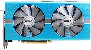 Sapphire RX 590 Nitro+ Special Edition Radeon RX 590 8 GB GDDR5 - Tarjeta gráfica (Radeon RX 590, 8 GB, GDDR5, 256 bit, 2100 MHz, PCI Express 3.0, Azul