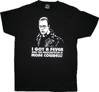 Saturday Night Live Christopher Walken More Cowbell Black T-Shirt