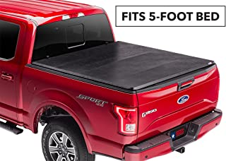 American Tonneau Company Soft Tri-fold Truck Bed Cover | 66409 | fits Toyota Tacoma 2016-19 (5 ft bed) - includes clamp kit for bed rail system