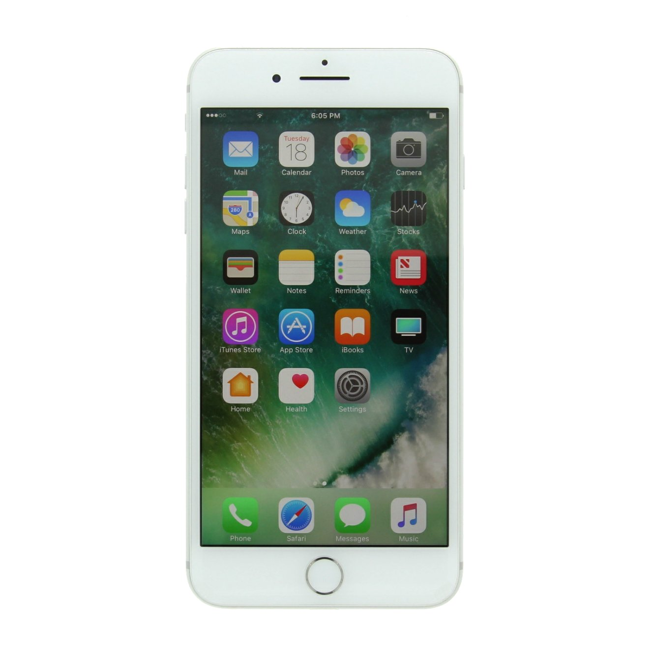 Amazon Com Apple Iphone 7 Plus 256gb Silver For At T T Mobile Renewed