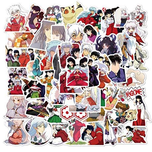 JZLMF 50 Pegatinas clásicas de Grafiti de Anime Pegatinas Impermeables para Equipaje Decorativo monopatín