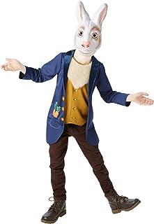 Rubie's Official Mr White Rabbit Fancy Dress Hare Wonderland Book Week Day Kids Childrens Costume (620739S)