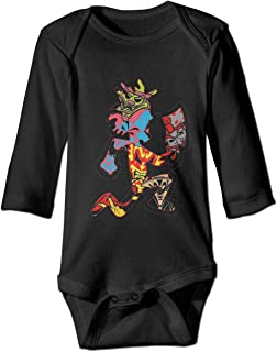 Juggalo Hatchet Man Unisex Babys Onesies Long-Sleeve Pattern Print Cotton Bodysuit