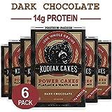 Kodiak Cakes Protein Pancake Power Cakes, Flapjack and Waffle Baking Mix, Dark Chocolate, 18 Ounce...