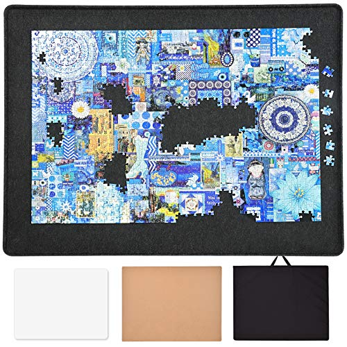 ALL4JIG 1000 Piece Jigsaw Puzzle Boards Portable with Cover,Puzzle Storage Board Puzzle Table Keeper,Puzzle Saver Mat Holder Puzzle Accessories for Adults