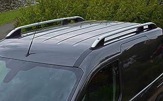 Barras de techo para L1 Transit Connect (2012+) aluminio plateado