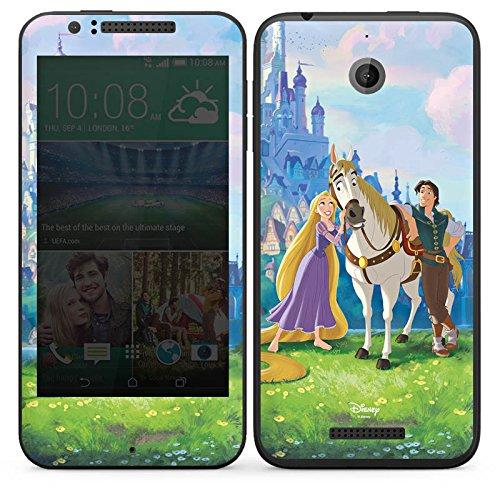HTC Desire 510 Case Skin Sticker aus Vinyl-Folie Aufkleber Disney Rapunzel ? Neu verföhnt Merchandise Geschenke