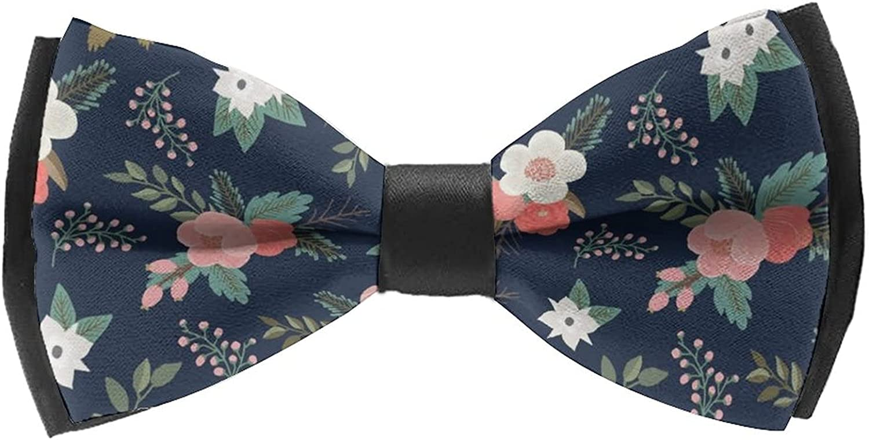 Men'S Self Bow Tie for Wedding Tuxedo Classic Cravat Ties