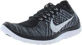 marcas de moda Nike Wmns Wmns Wmns Free 4.0 Flyknit, Zapatillas de Running para Mujer, Negro (negro blanco-Wolf gris-Drk gris), 43 44 EU  hasta un 70% de descuento