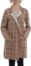Minnie Rose Womens Wool-Blend Cardigan, L