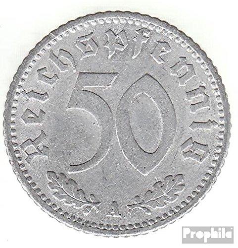 Deutsches Reich Jägernr: 368 1935 F sehr schön Aluminium 1935 50 Reichspfennig Reichsadler (Münzen für Sammler)