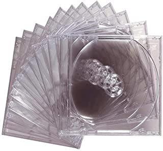 Maxell 190069 Jewel Case 12Pk Clear 10Mm