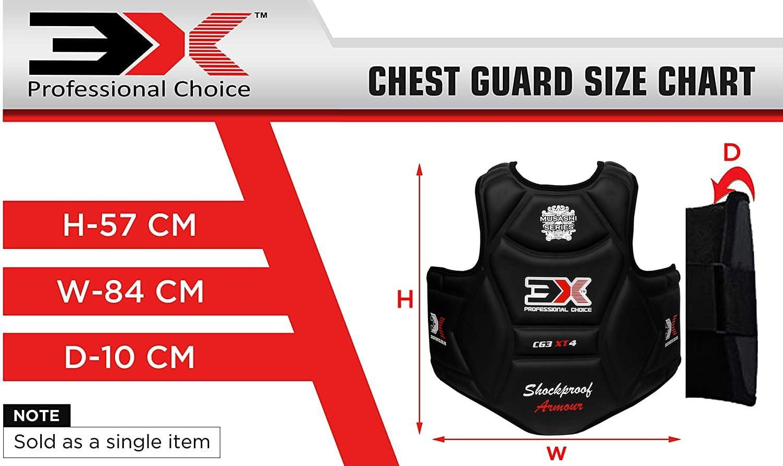 3X Professional Choice Boxen Brustschutz Rippenschild-R/üstung Taekwondo K/örperschutz Krav MAGA MMA K/örperschutz Kampfkunst Ausbildung CE-Zertifiziert Genehmigt