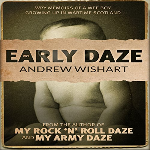 My Early Daze audiobook cover art