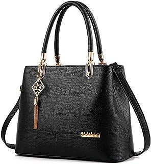 Women Bag Casual Tote Top-Handle Messenger Bags Shoulder student Handbag Purse Wallet Leather