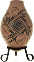 Cases Grandes Olla Pottery Feathers Speckled Pattern Arturo Holguin 0014