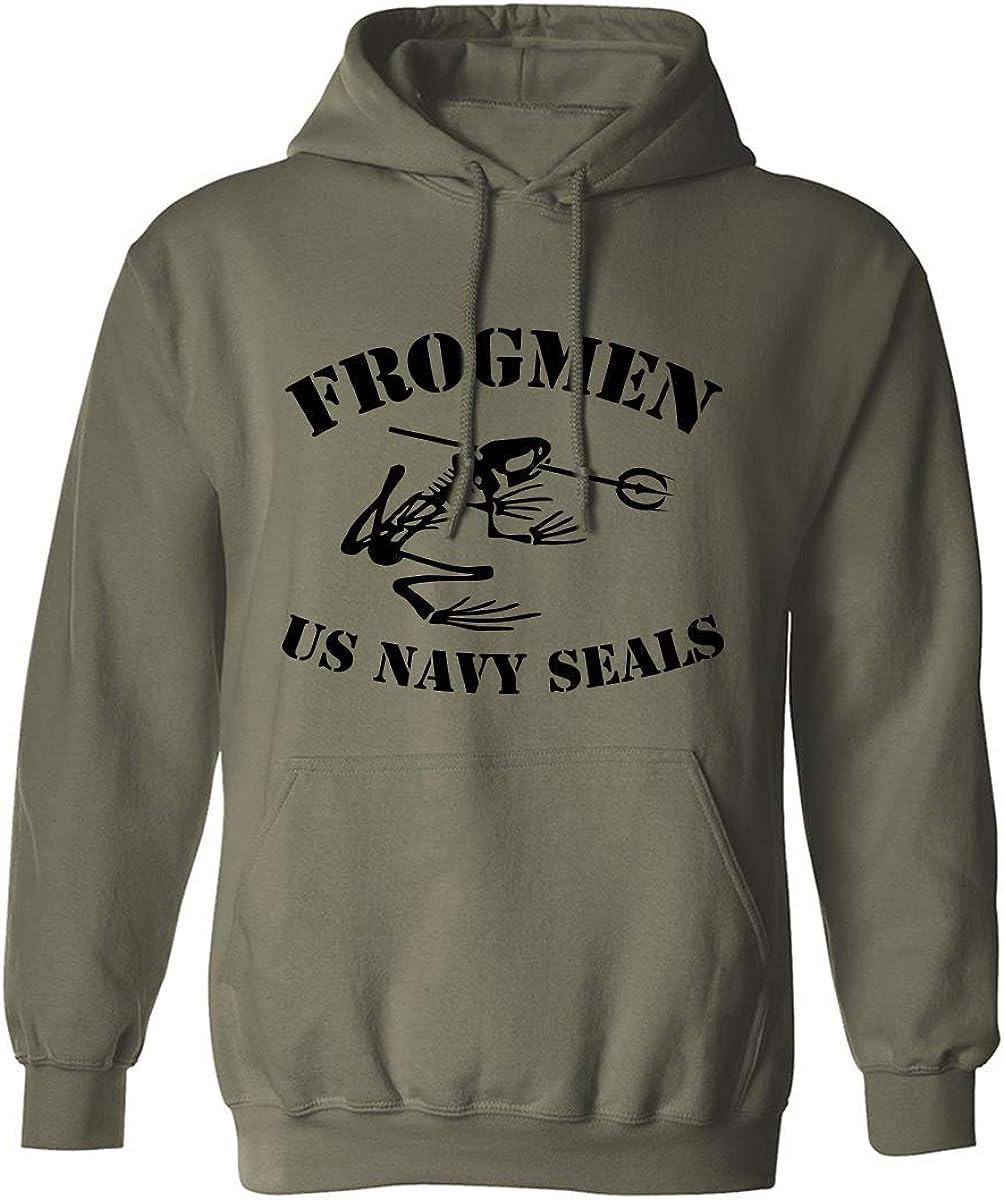 FROGMEN US NAVY SEALS Adult Hooded Sweatshirt
