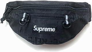 SUPREME (シュプリーム)2019 SS Waist Bag(ウエストバッグ・カバン・CORDURA)ブラック 黒