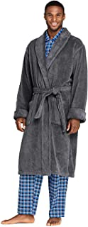 Men's Turkish Terry Cloth Robe Calf Length with Pockets