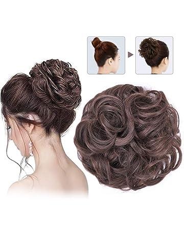Amazon.es: Postizos - Extensiones de cabello, pelucas y accesorios: Belleza