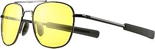 SUNGAIT سبک نظامی مردانه عینک آفتابی Polarized Pilot Aviator عینک آفتابی سرنیزه
