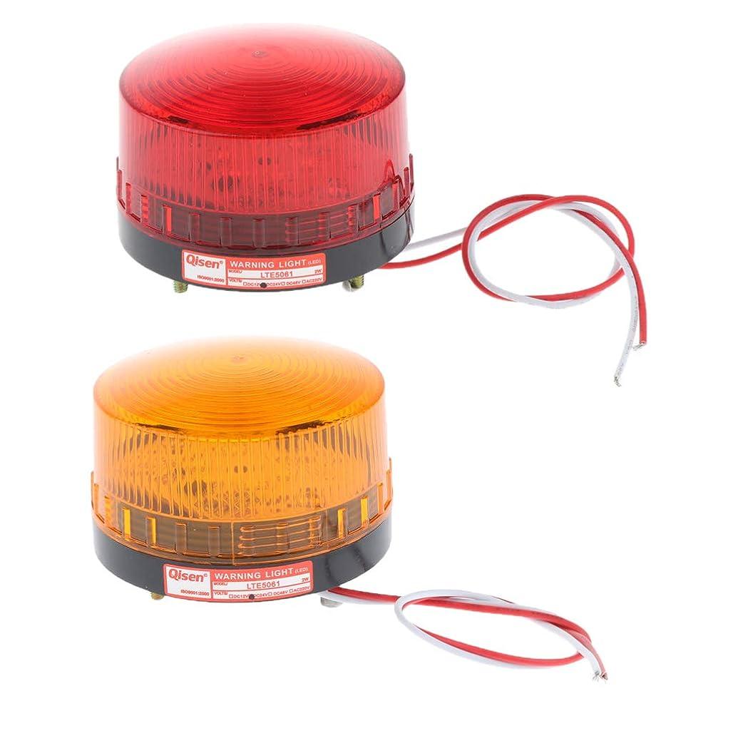 ドラッグ予知補体FLAMEER 2色入り ストロボ信号 非常信号灯 置き換え プラスチック 警告灯 高輝度 耐久性 耐衝撃 24V