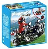 Playmobil 5429 Mountain Rescue Quad por Playmobil