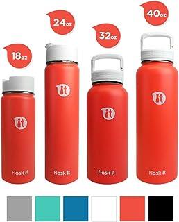 Flask It 广口双壁真空保温不锈钢水壶