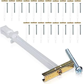 TOGGLER SNAPTOGGLE Drywall Anchor with included bolts for 1/4-20 Fastener size; holds 80 pounds each by TOGGLER ..., 24200