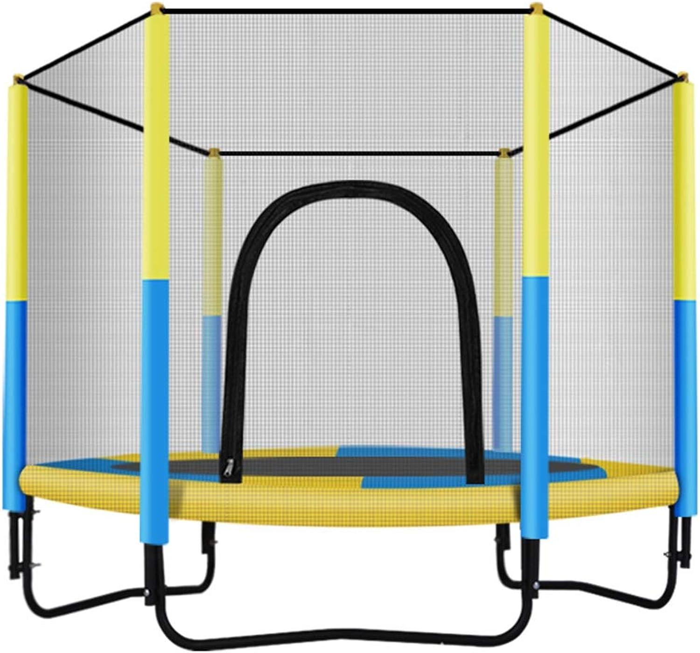 LWY 60-Zoll-Trampolin Kindertrampolin Home Indoor Outdoor Mit Schutznetz Mini-Trampolin Lagergewicht 200kg PP Jump Cloth