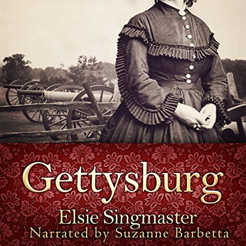 Gettysburg     Stories of the Red Harvest and the Aftermath              By:                                                                                                                                 Elsie Singmaster                               Narrated by:                                                                                                                                 Suzanne Barbetta                      Length: 3 hrs and 14 mins     1 rating     Overall 4.0