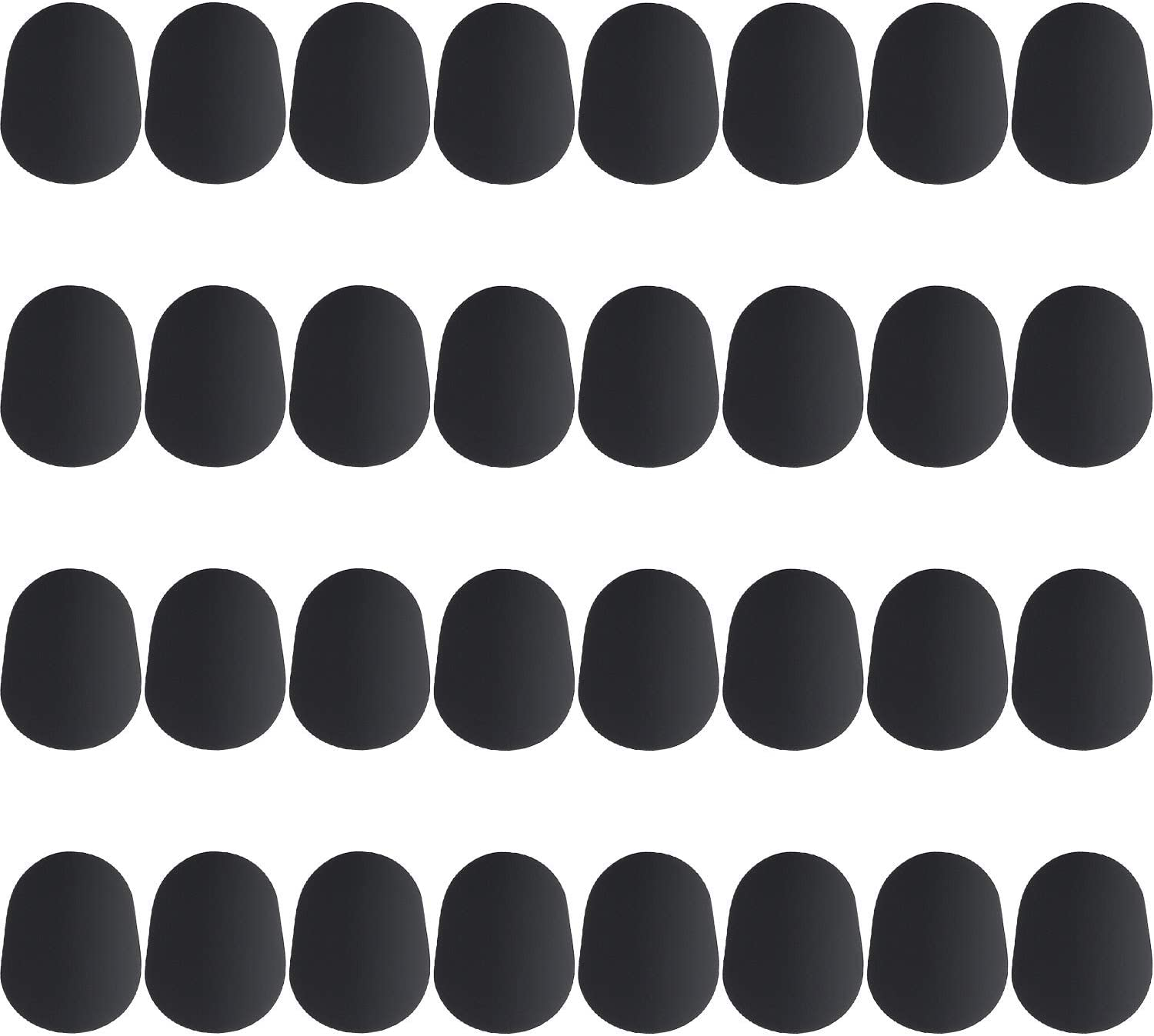 Boao 32 Pieces Mouthpiece Direct store Cushion Patches Very popular 0.8 for mm