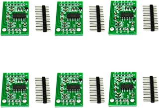 Rasbee 6個 HX711 国内配送 ロードセルモジュール 24位 精度AD 秤量センサー 圧力センサー 計量圧力センサ A / D変換 センサーボードスケール