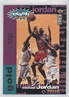 Michael Jordan (Basketball Card) 1995-96 Upper Deck Collector's Choice - Crash the Game Redemption Scoring - Gold #C1.3