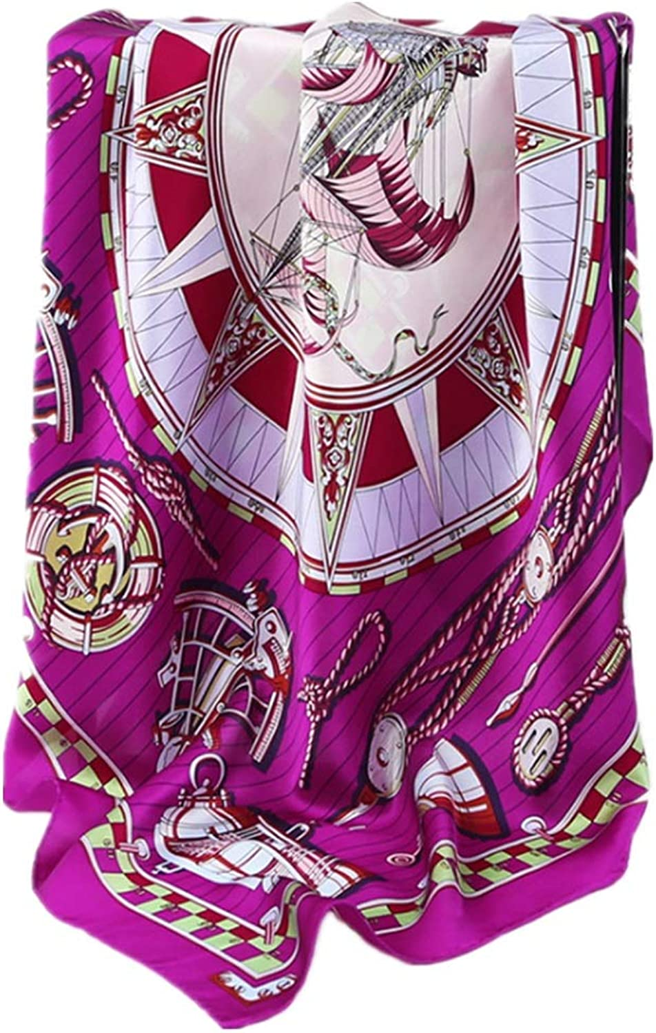 Women Lady Girl Women's Scarves Spring Summer Comfortable Travel Yellow Beach Towel Party Lightweight Scarf (color   Purple)