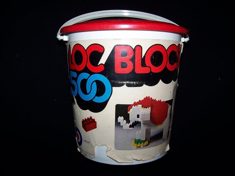 Loc Blocs 500 Vintage Building Blocks Set By Entex