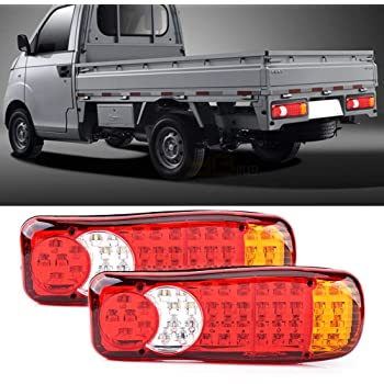 2/ X 46/ LED Stop posteriore Fanale posteriore 12/ V per camion camper Trailer Camion Telaio Cassone Ribaltabile Caravan Camion 350/ mm