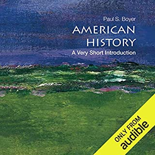 American History: A Very Short Introduction  Titelbild