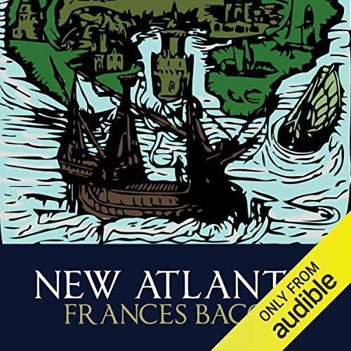 New Atlantis audiobook cover art