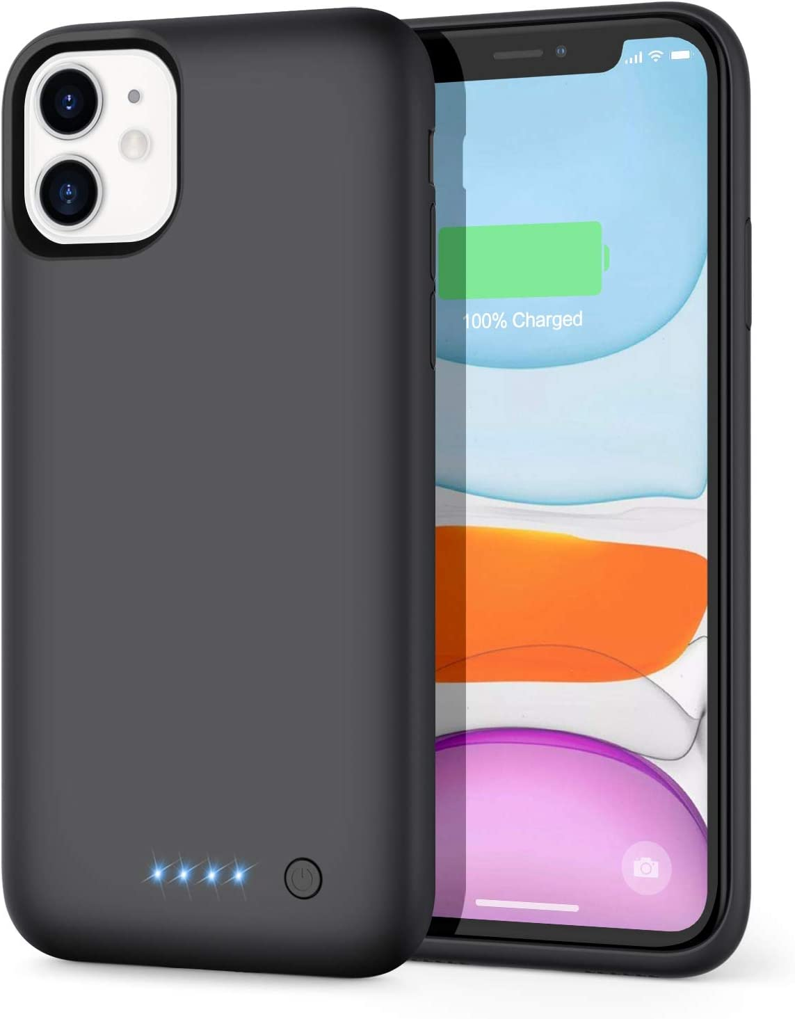 OFFicial Yacikos Battery Fashionable Case for iPhone 11 6800mAh C Protective Protable