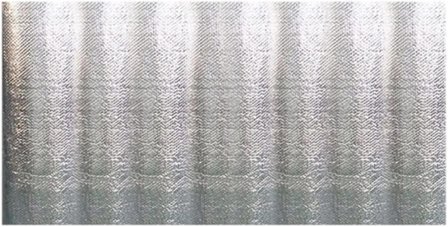 Cubierta Solar de Piscina isotérmica Rectangular Desmontable , PE Cobertor para Piscina Película de Aislamiento Protectora, Polvo Fundas para Piscinas Lona Térmico, Impermeable, Plata,160 * 320cm