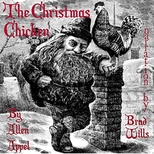 The Christmas Chicken audiobook cover art