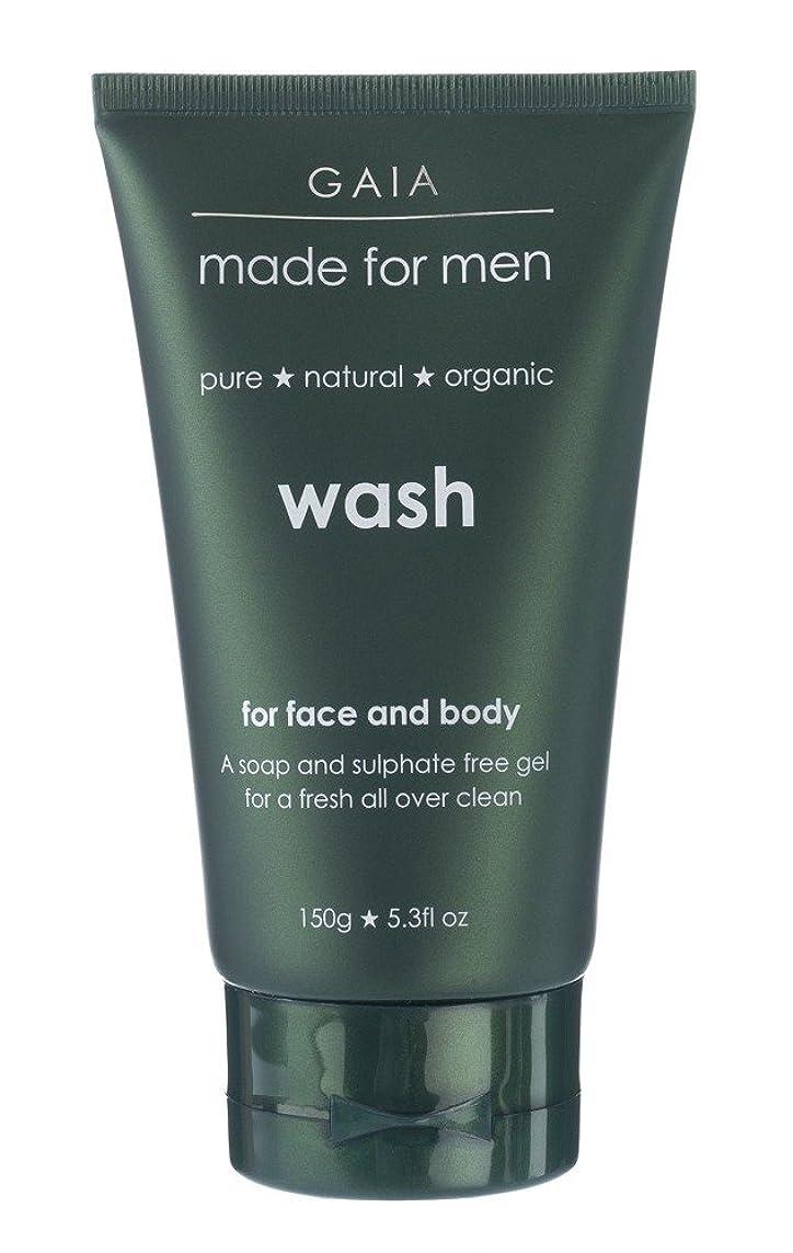 相反する魔術音楽を聴く【GAIA】Face & Body Wash made for men ガイア メンズ フェイス&ボディウォッシュ 150g